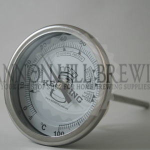 132mm Bi-Metal Dial Thermometer