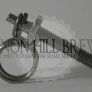 9mm - 12mm Stainless Wire Clamp