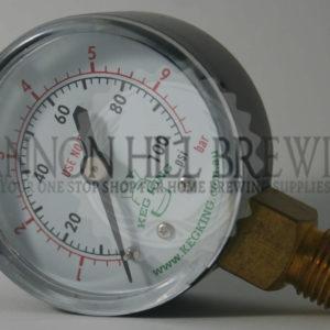 Low-Pressure Gauge 0-80 PSI