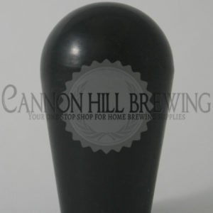 Short Black Draft Tap Handle