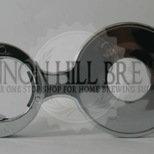 73mm Chrome Plated Decal Holder